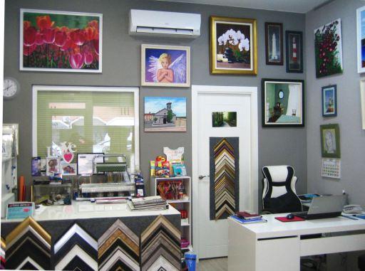 Imagen del interior de laTienda Todo Arte