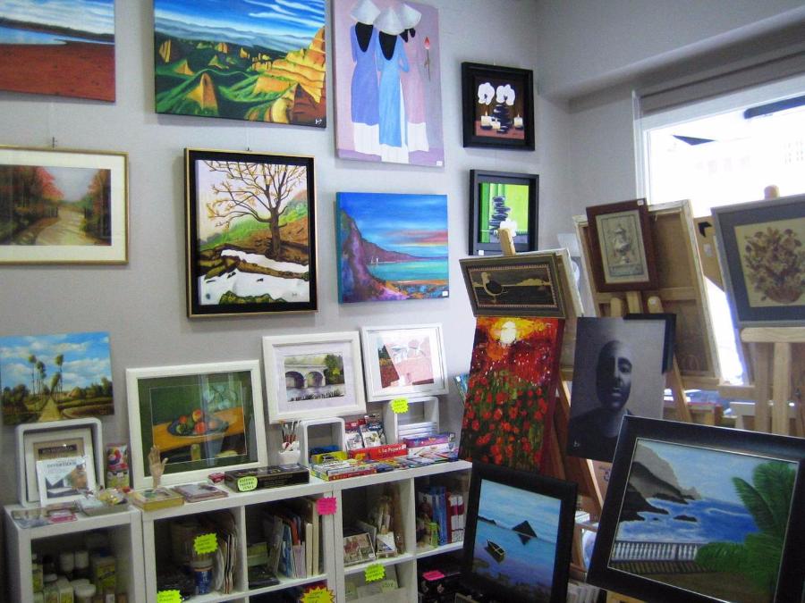 imagen de Cuadros y regalos en tienda Todo Arte