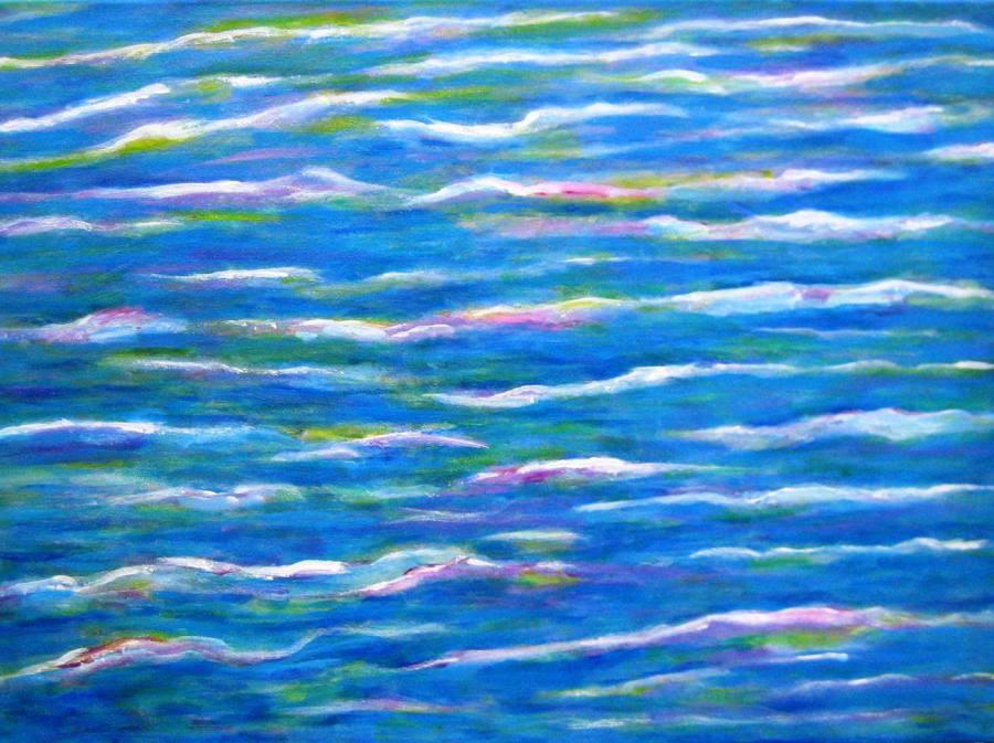 Imagen de Abstracto Marea. Mixta Acrilico y oleo sobre lienzo
