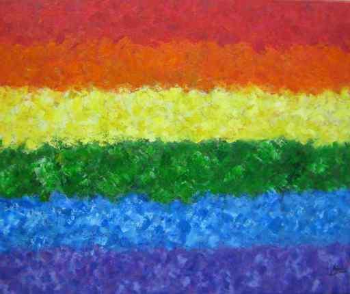 imagen de Bandera de la Libertad. Acrilico sobre Lienzo