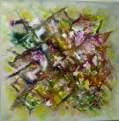 Imagen de Jardines. Mixta Oleo y Acrilico sobre Lienzo.
