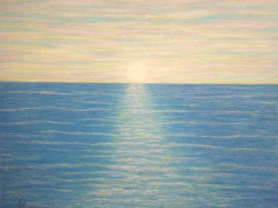 """""""Mar de Colores"""" T. Mixtas. Obra Original Mirelu."""