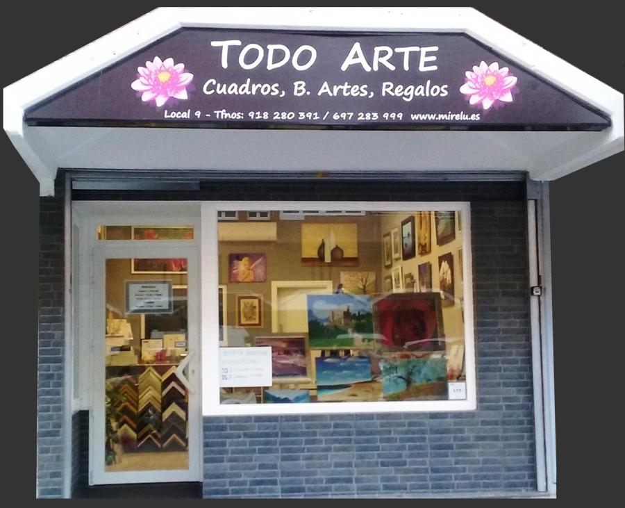 Tienda Arte. Enmarcacion Cuadros Oleo Bellas Artes Hortaleza Madrid